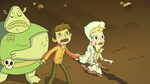 S3E7 Marco, Moon, and Buff Frog in shock