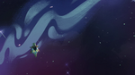 S4E14 Ludo flying into deep space