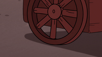 S4E2 Cart's wheel rolling forward