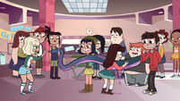S1E5 Schoolgirls like Marco's monster arm