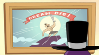 S2E22 Spider With a Top Hat looks at 'Dream Big!' poster