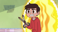 S3E22 Marco Diaz entering Star's bedroom via portal