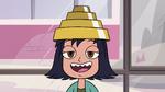 S2E32 Janna wearing a Devo hat