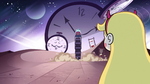 S2E32 Star Butterfly watches Father Time ride away