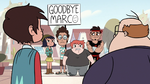 S3E13 Marco Diaz's friends appear to see him off