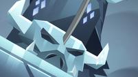 S4E5 Neverblade thrusts into the pedestal
