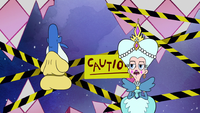 S2E25 Queen tells Glossaryck to accelerate Star's training