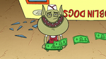 S2E13 Roy laughs as Marco's money blows away
