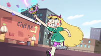S2E14 Star Butterfly blasting at Ludo