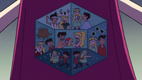 S4E18 Various patches depicting Star and Marco