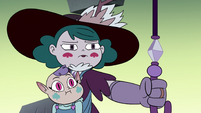 S4E35 Eclipsa surrendering the magic wand