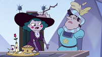 S4E7 Eclipsa 'eating out of dog bowls'