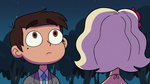 S2E27 Marco looking up at the moon