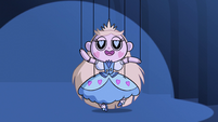 S2E40 Star Butterfly puppet continues to dance