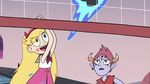 S3E19 Star Butterfly bumping the flaming skull