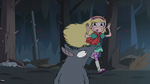 S3E1 Star Butterfly sticks her tongue out at the rats