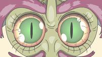 S3E34 Close-up on Ben Fotino's creepy eyes