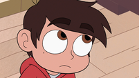 S3E14 Marco Diaz looking up at Star Butterfly