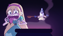 S3E7 Star Butterfly disgusted by Glossaryck's stew