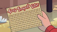 S4E26 Marco's card with two punches left