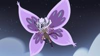 S4E28 Meteora appears in Butterfly Form
