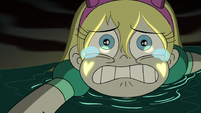 S3E7 Star Butterfly shedding tears of desperation
