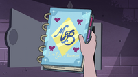 S4E15 Moon Butterfly's day planner