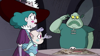 S4E34 Buff Frog saluting to Eclipsa Butterfly