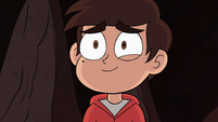 S4E34 Marco Diaz smiling at Star Butterfly