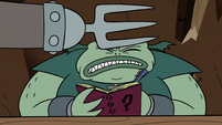 S2E20 Meat Fork strikes Buff Frog with metal hand yet again
