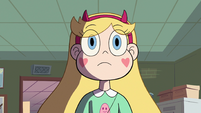 S2E38 Star Butterfly listening to Principal Skeeves