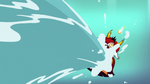 S3E22 Hekapoo falling into the flood of seawater