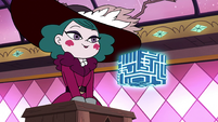 S3E29 Eclipsa looking at the Box of Truth
