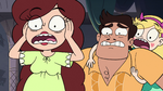 S3E32 Star, Rafael, and Angie very freaked out