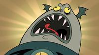 S1E3 Buff Frog screams in pain