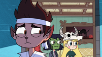 S2E21 Marco, Star, and Janna look at Rafael Diaz
