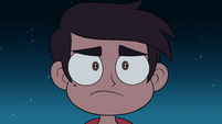 S2E41 Marco staring intently at Jackie Lynn Thomas