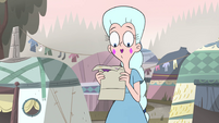 S4E24 Moon holding a coronation invite