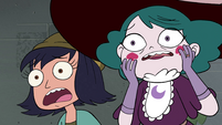 S4E33 Janna and Eclipsa in horrified shock