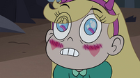 S4E5 Star Butterfly blushing at Brunzetta