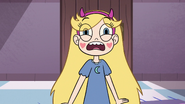 S3E9 Star Butterfly reels backward in fright