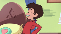 S4E11 Marco Diaz dancing with joy