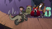 S4E22 Marco and Riders Club waiting for Tom