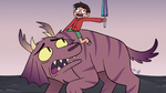 S3E19 Marco Diaz riding on Jorby's back