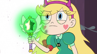 S3E1 Star Butterfly holding her glowing wand