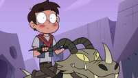 S4E22 Marco Diaz blushes after passing gas