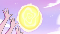 S3E37 Mewberty Star opening a portal