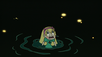 S3E7 Star Butterfly looking up at giant Toffee
