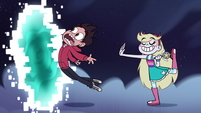 S1e2 star pushes marco into the portal
