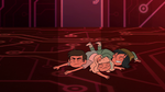 S2E17 Janna falls on top of Marco and Jackie